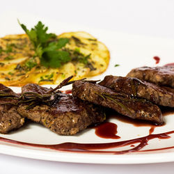 Visit the Shoot &amp; Eat and sample the delectable giraffe medallions. Full menu here.
