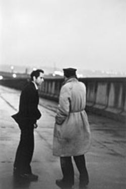 John Cohen's Untitled (Robert Frank and Larry  Rivers during production of Pull My Daisy)
