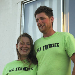 The Colandos, who founded their company, All Energies, in 2009, hope to eventually raise goats for milk and grow all their food on their ranch.