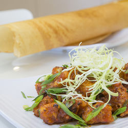 Gobi Manchurian and a slightly crispy dosa will take you away to the streets of Chennai, if only for a while.