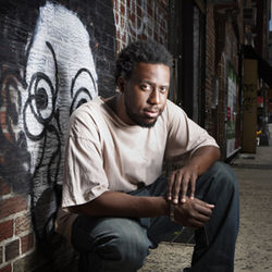 On the Go: In-demand pianist Robert Glasper pauses between gigs.