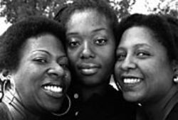 The ladies of the GMC: Mayjerum McCarthy, Nickesha  Sanders and Sekayi Odinga