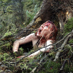 Shauna Macdonald stars in The Descent, a playfully assaultive slasher.
