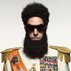 Details on Sacha Baron Cohen's The Dictator are scarce.  But we're still excited about it.