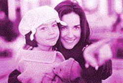 Demi's monde: Demi Moore personifies the classic work/family dilemma by playing two separate characters.