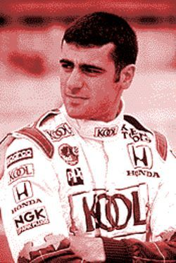 "Hot rod: Dario ""Speedwagon"" Franchitti won the Texaco/Havoline Grand Prix last year."