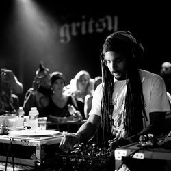 "Suraj Kurian says Mala, pictured at Gritsy's five-year anniversary, is to dubstep ""kind of like what Bob Dylan is to rock and roll."""