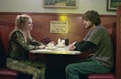 A wing flaps, and -- boom -- an alternative life  takes over: Kayleigh (Amy Smart) and Evan (Ashton  Kutcher) fall on hard times.