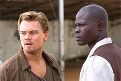 Blood Diamond: Hollywood's pitch for cubic zirconia.