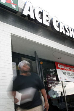 With 1,371 stores in 37 states, Irving-based ACE  Cash Express dominates the check-cashing industry.
