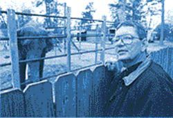 Robin Walker believes that, with elephants, good fences make good neighbors.