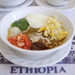 For breakfast, try foul, kinche and fiery Ethiopian coffee.