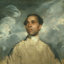 Joshua Reynolds&#039;s A Young Black exudes great dignity, but it is also a sad face.
