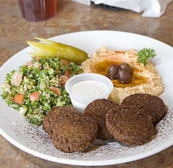 Zabak's are the standard by which Houston falafels are judged.