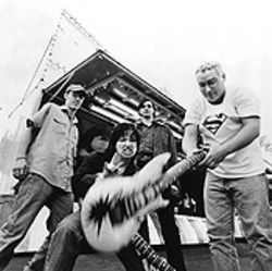 The Toadies in 1995, riding high on Rubberneck.