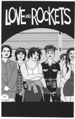 Eighteen years after its debut and four years after its demise, Love and Rockets returns this month.