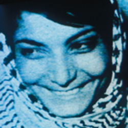 Dial H-I-S-T-O-R-Y features footage of Palestinian hijacker Leila Khaled.