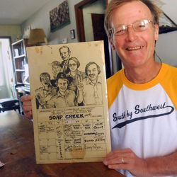 Author Joe Nick Patoski holds a relic from the tail end of Austin&#039;s glory days: The Soap Creek Saloon was the soul of Austin&#039;s scene while the Armadillo was the heart. Today, Patoski believes that Austin has the same big-city problems of Houston and Dallas, while the two larger cities have both gotten less suffocating.