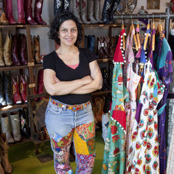 "Designer Judy Masliyah followed her soon-to-be-husband from Los Angeles to Austin, but quickly determined that Austin's creative scene was ""just for show."" Now she runs a boutique on Houston's Main Street and loves the Bayou City's cosmopolitan flair."