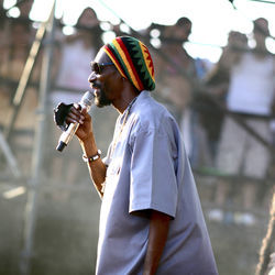 Snoop Dogg at FPSF 2012, before his &quot;Snoop Lion&quot; transformation.