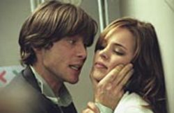 Not your typical Wes Craven movie: Red Eye,  starring Cillian Murphy and Rachel McAdams.
