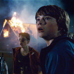 Joe Lamb (Joel Courtney) is making a Super 8 Night of the Living Dead with some other 14-year olds.