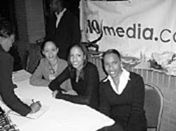 i10 Media's Kim Green, Lashonda Guillory and Iyuna Lamott