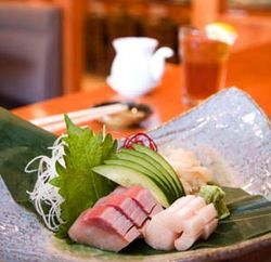 The hamachi sashimi is the best in Houston.