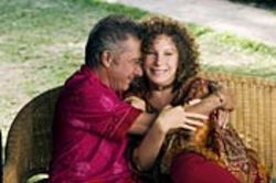 Very horny Hebrews: Dustin Hoffman and Barbra Streisand.