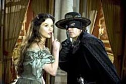 The Legend of Zorro, starring Catherine  Zeta-Jones and Antonio Banderas, rates as something  less than legendary.
