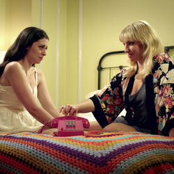Lauren Miller and Ari Graynor play two women who start a phone-sex service.