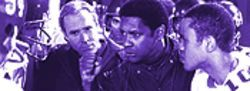 O cursed spite, that ever I was born to set it right: Denzel Washington tries to motivate his poor players through a series of monologues.