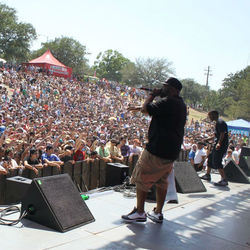 Bun B at Summer Fest 2011: A scene like this was almost unthinkable four years ago.