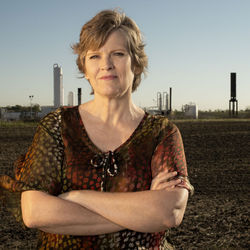 "Sharon Wilson moved to rural Wise County, Texas, so her ""children would enjoy clean air and clean living."" Instead, she ran into Mitchell Energy's fracking operations."