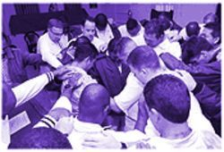 Intensive evangelical services and prayer dominate the InnerChange prison program.