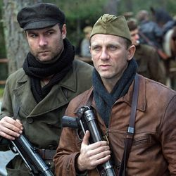 Liev Schreiber and Daniel Craig in yet another Holocaust movie.