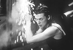 Milla Jovovich is in shock most of the movie -- except when she remembers that she&#039;s a Charlie&#039;s Angel.