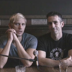 Sex columnist Dan Savage, right, and his husband Terry Miller, left, appear in the inaugural It Gets Better video.