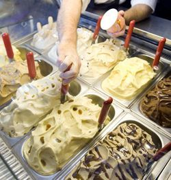 The Black Walnut Cafe's main attraction is the gelato.