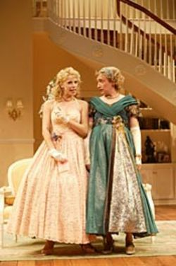 Leading Ladies' happy couple: Audrey (Kohl)  and Stephanie (Duva).