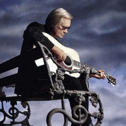 White (Haired) Lightnin': The one and only George Jones.
