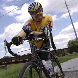 Some say Dan Raine, the City of Houston's Bicycle/Pedestrian Coordinator, has an unenviable job. Even his best efforts can anger half the cycling community and all of the motoring community.