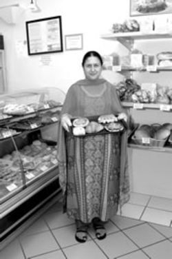 Local franchise owner Laila Vastani serves up an unlikely fusion of French and Indian cooking.