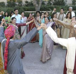 The best Saturday morning party in Sugar Land, the Maheshwari baraat...