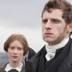 Jamie Bell plays a young clergyman.