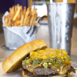 Sheer bliss: The Houston Burger.