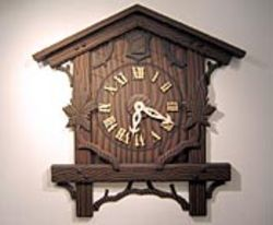 Bill Davenport's big, ridiculous Cuckoo Clock is  the show's standout.