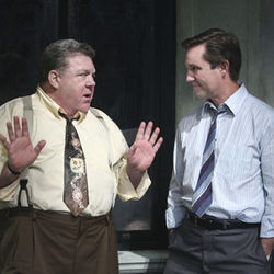 TV favorites: George Wendt and Richard Thomas.