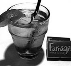 Farrago's Campari and soda