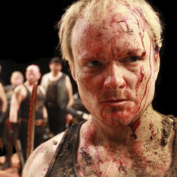 War was a bloody, muddy, up close and personal business in Henry V&#039;s time.